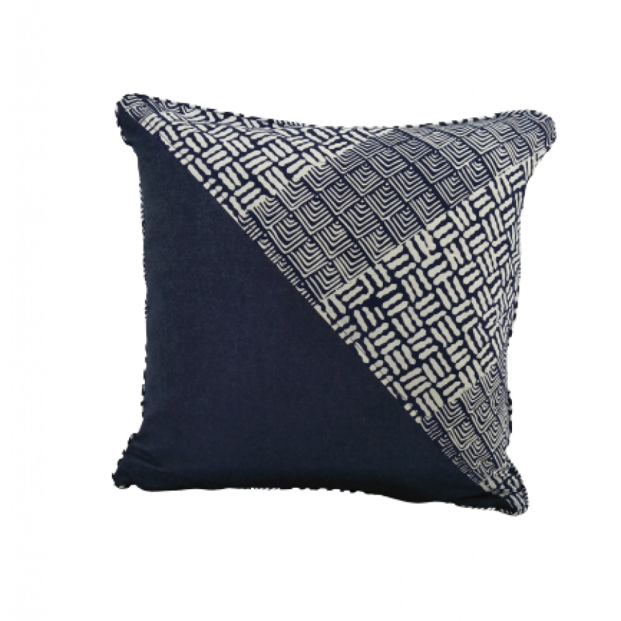 CC1 - Batik Mix Denim Cushion Cover
