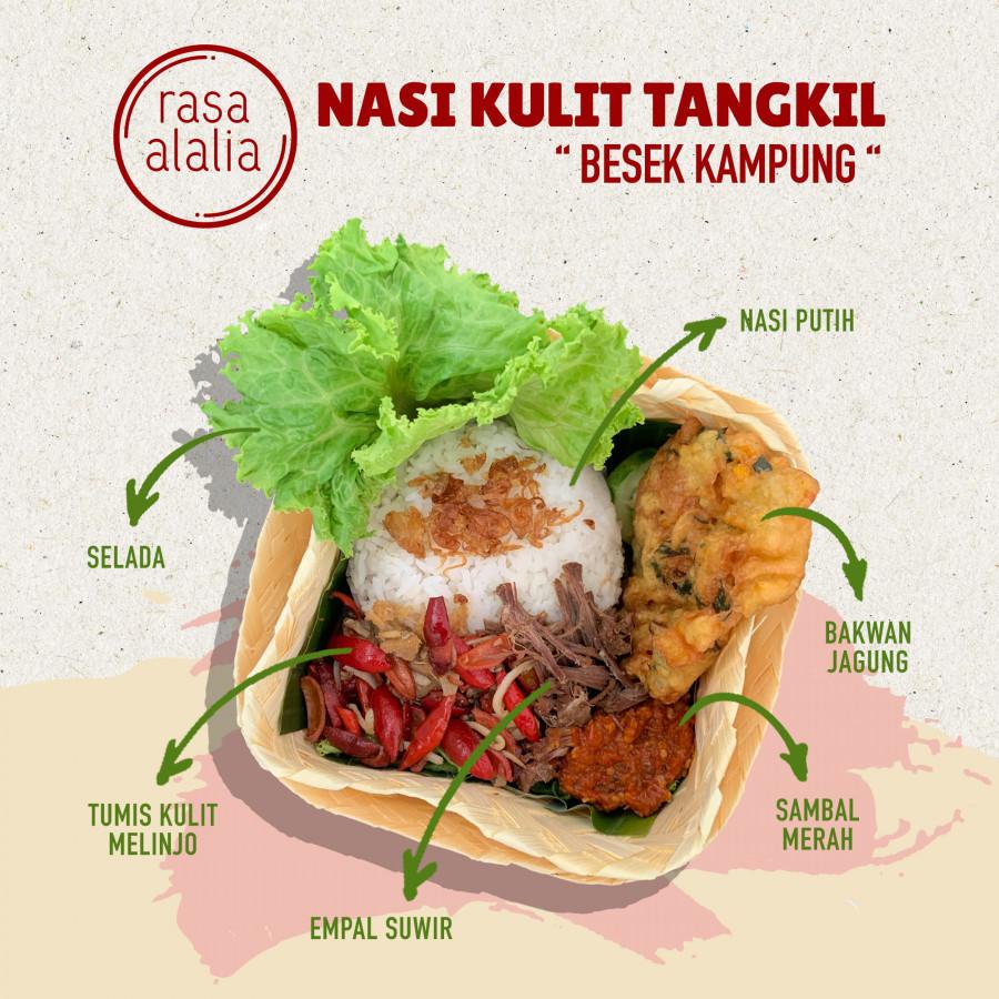 Nasi Kulit Tangkil