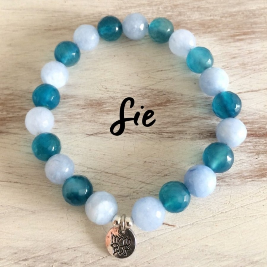 Gelang Blue Lotus