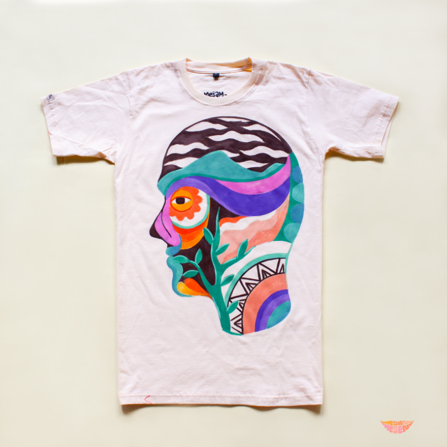 Kaos Lukis Ready Stock