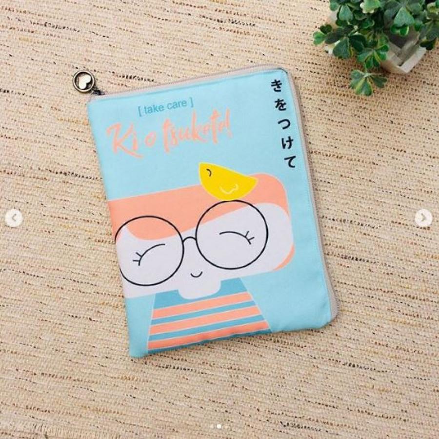 Ipad Gadget Tablet Cover Handmade Printing Kokeshi Series Chiyo
