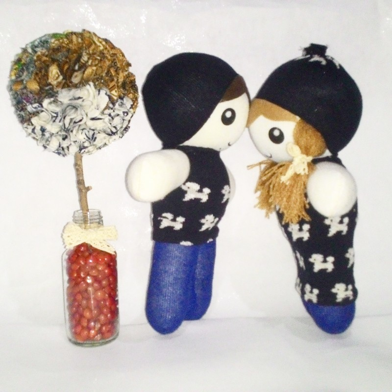 Boneka Kaos Kaki Couple series