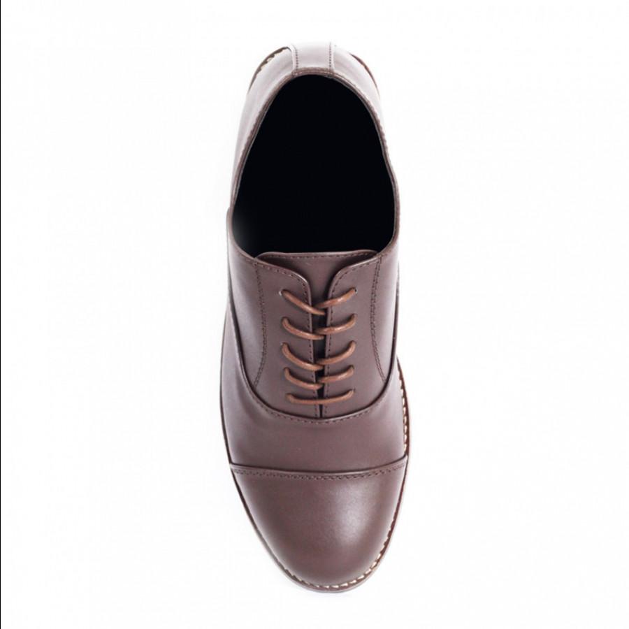 Lvnatica Sepatu Pria Pantofel Dante Brown Formal Shoes