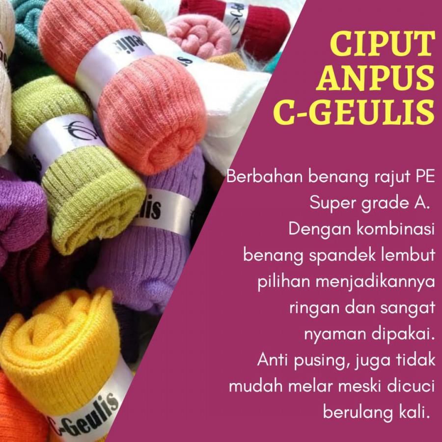 Ciput Anpus C-Geulis (5 buah)