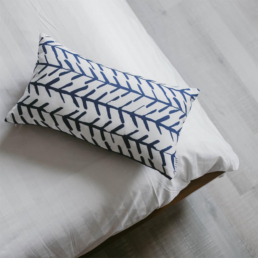 Blue Fish Cushion 30 x 50