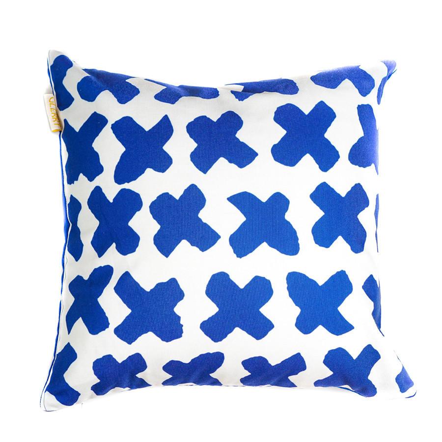Navy Times Cushion 40 x 40