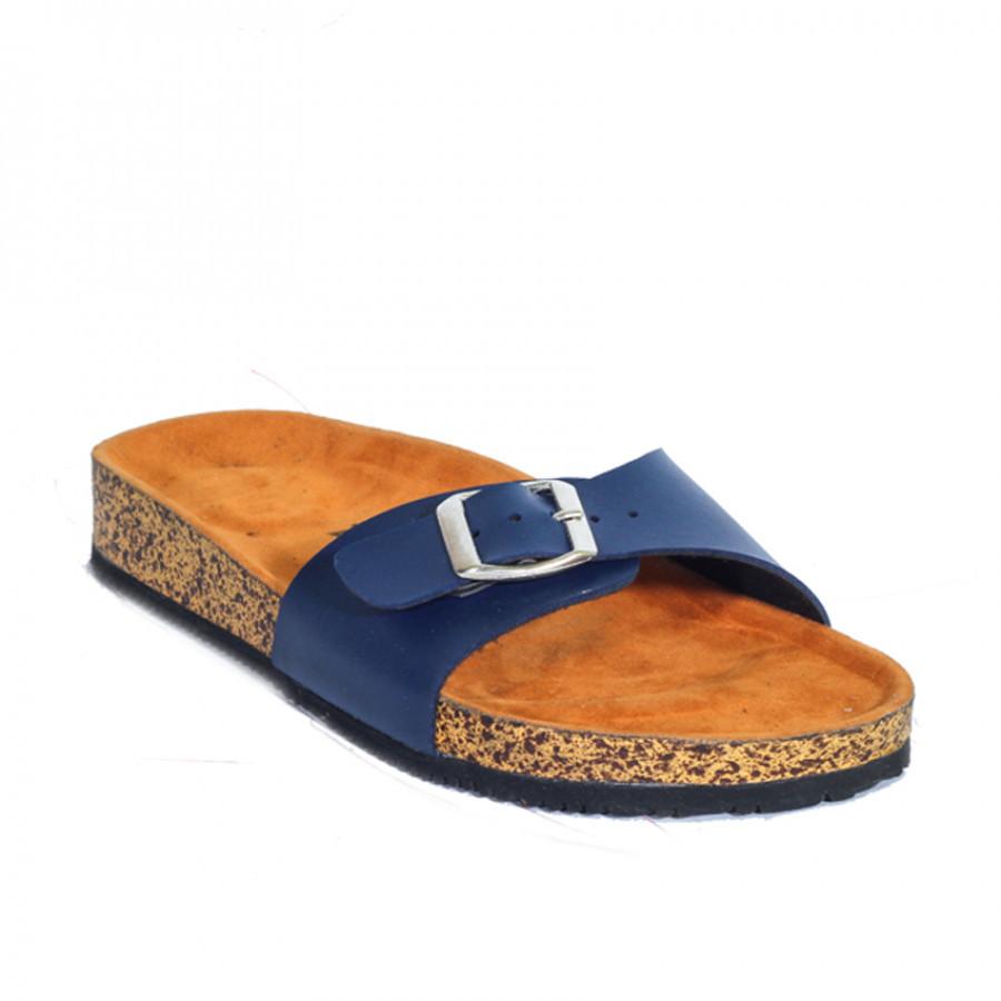 Zensa Footwear Hestia Navy Sandal Slipper Wanita Orignal