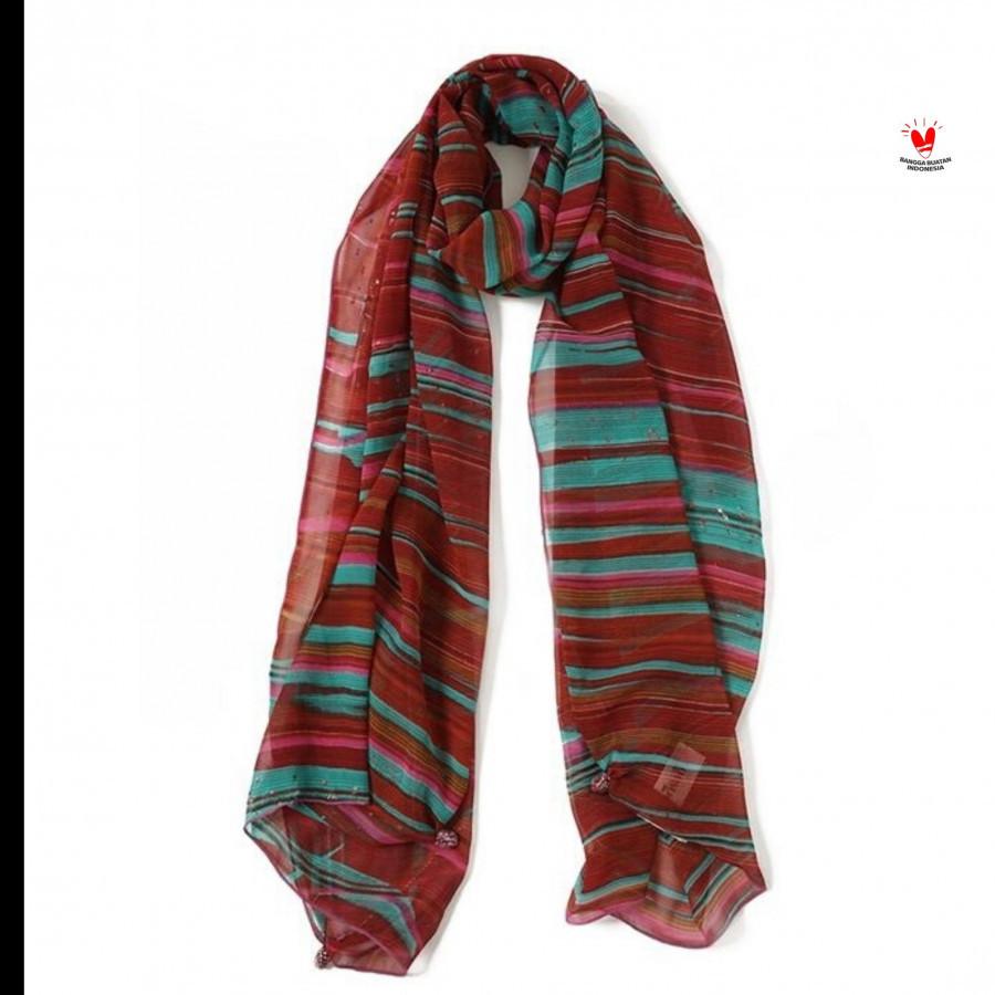 GESYAL Syal scarf Sidon Abstrak Magenta