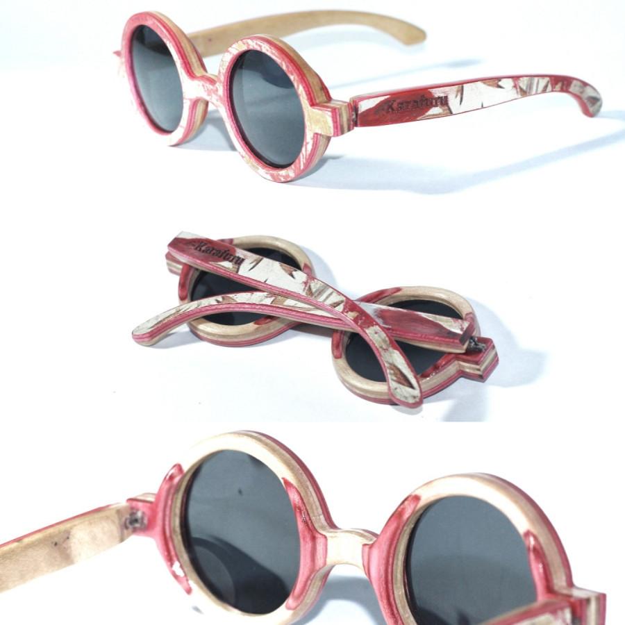 Wooden eyeware