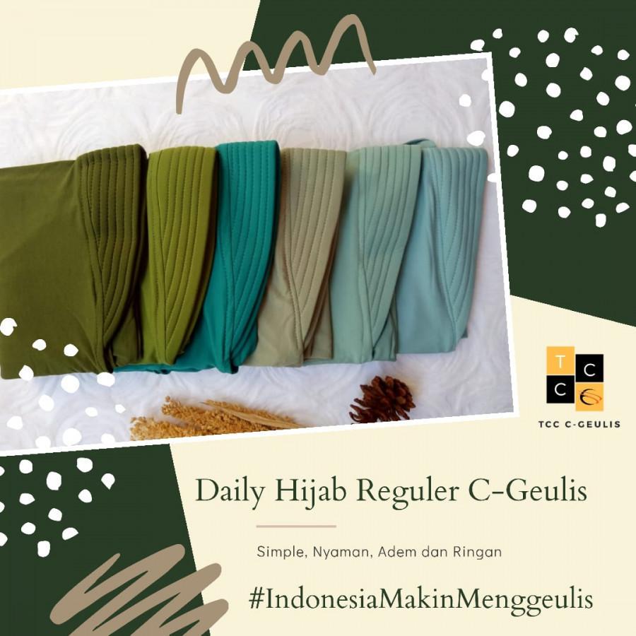 Daily Hijab Reguler (3 buah)