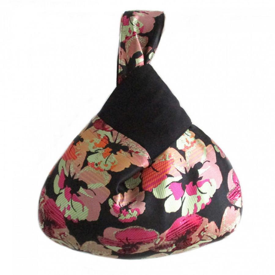 Koinobori Jacquard Sakura Wrist Bag Tas Wanita