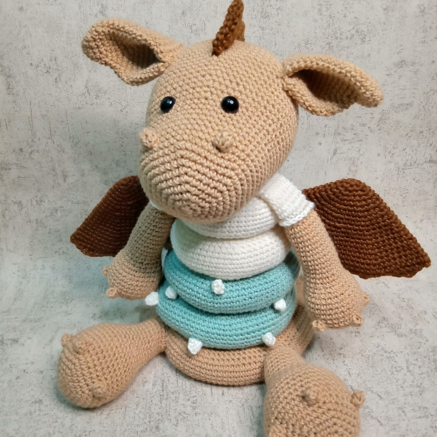 Dragon Stacking Toy