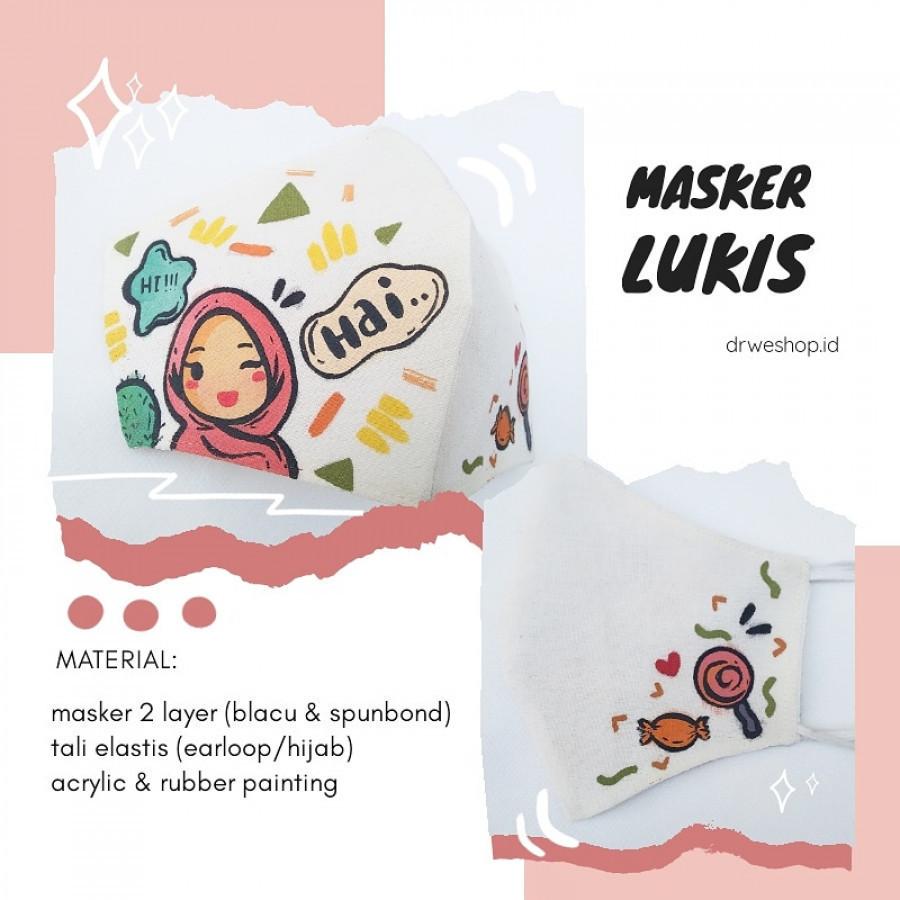 Masker Lukis Custom