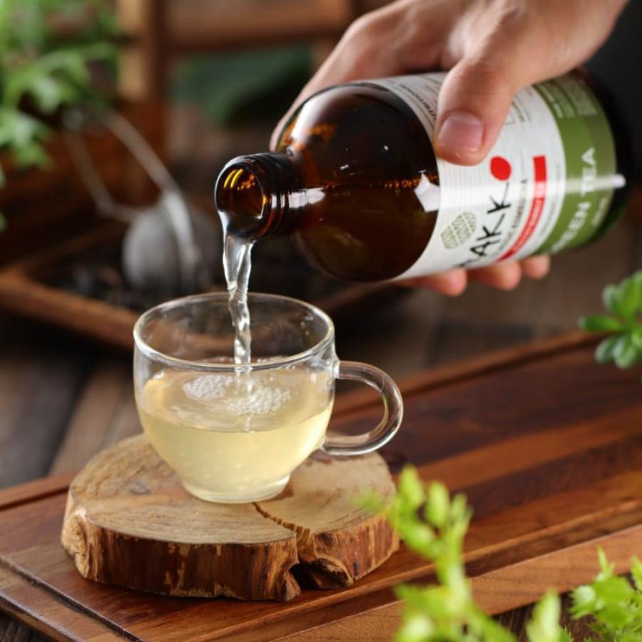 Hakko Kombucha Green Tea / Teh Hijau 330 mL