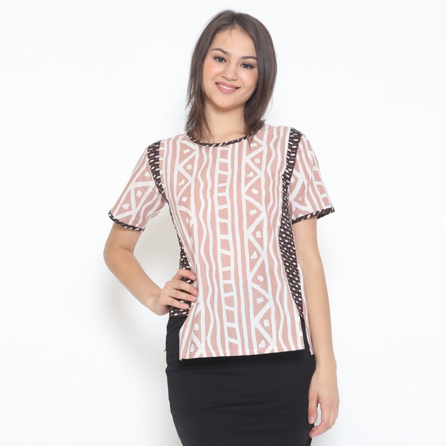 Sofie Blouse - Brown