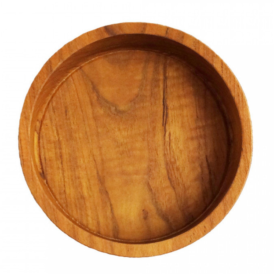 Solid Wood PLATE - PLA Kids Round-L