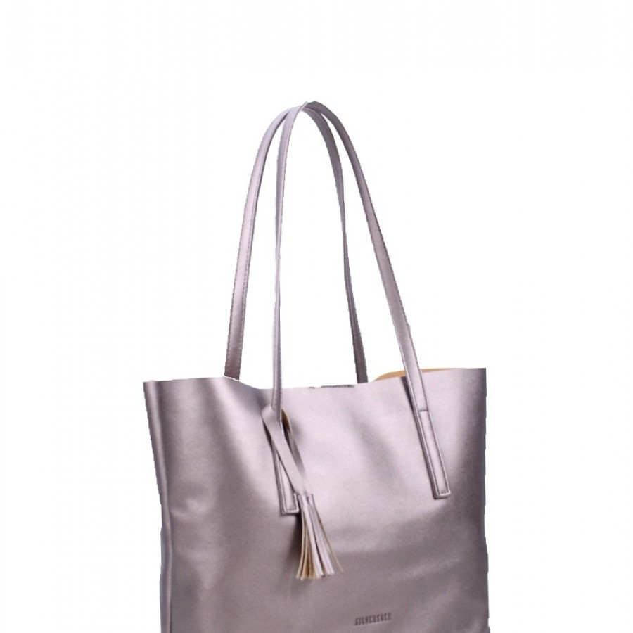 Silver Tote Kayla Tote Rose Gold