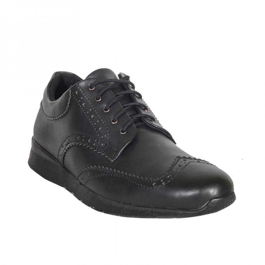 Lvnatica Footwear Wales Black Sepatu Formal | Pantofels Pria