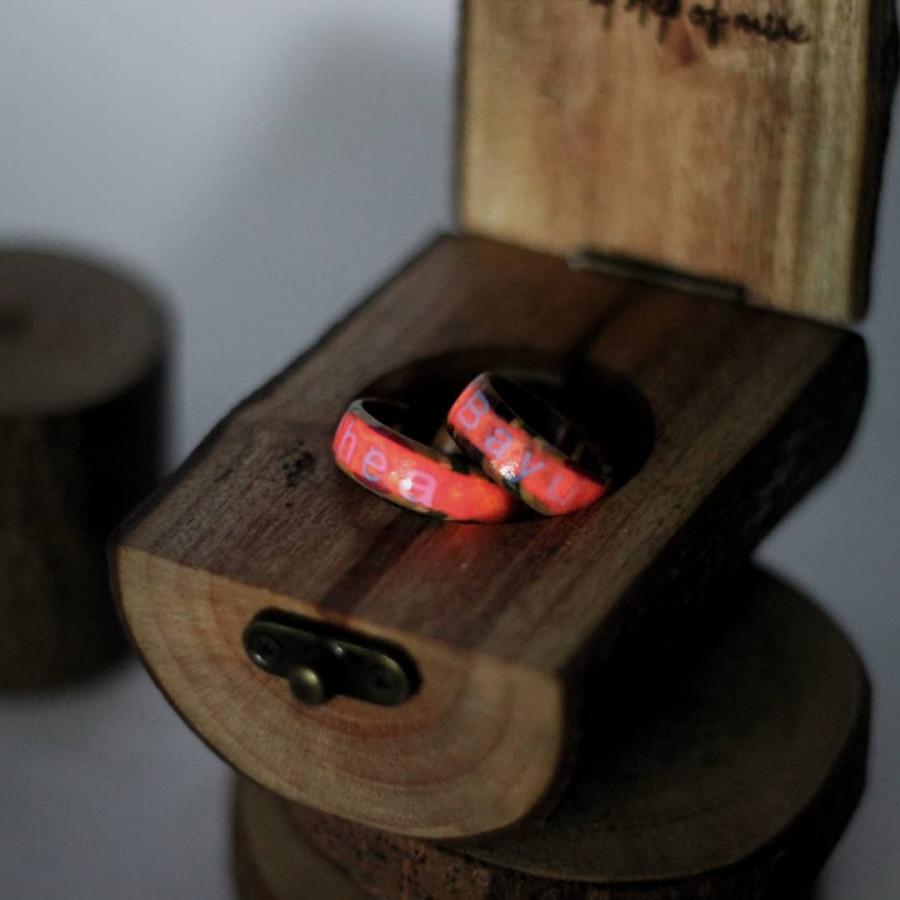 Ring wood box set