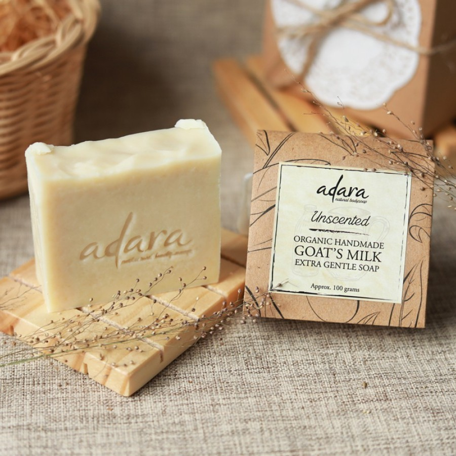 Adara Organic Goat's Milk Soap - Unscented