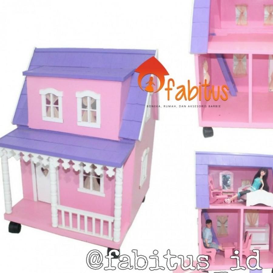 Mainan Anak Rumah Boneka Barbie Arthur Dollhouse Ku Ka Barby