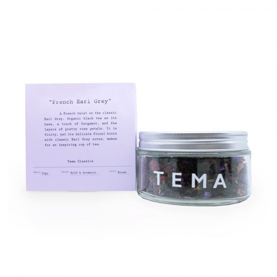 French Earl Grey TEMA Tea - Jar