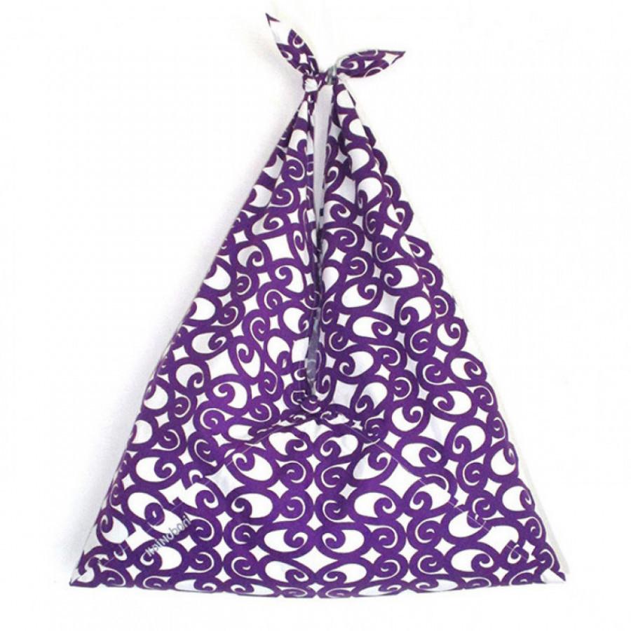 Koinobori Purple Swirls Azuma Bag Tas Wanita / Pria / Unisex