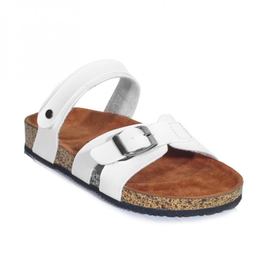Zensa Footwear Kanna White Sandal Slipper Wanita Original