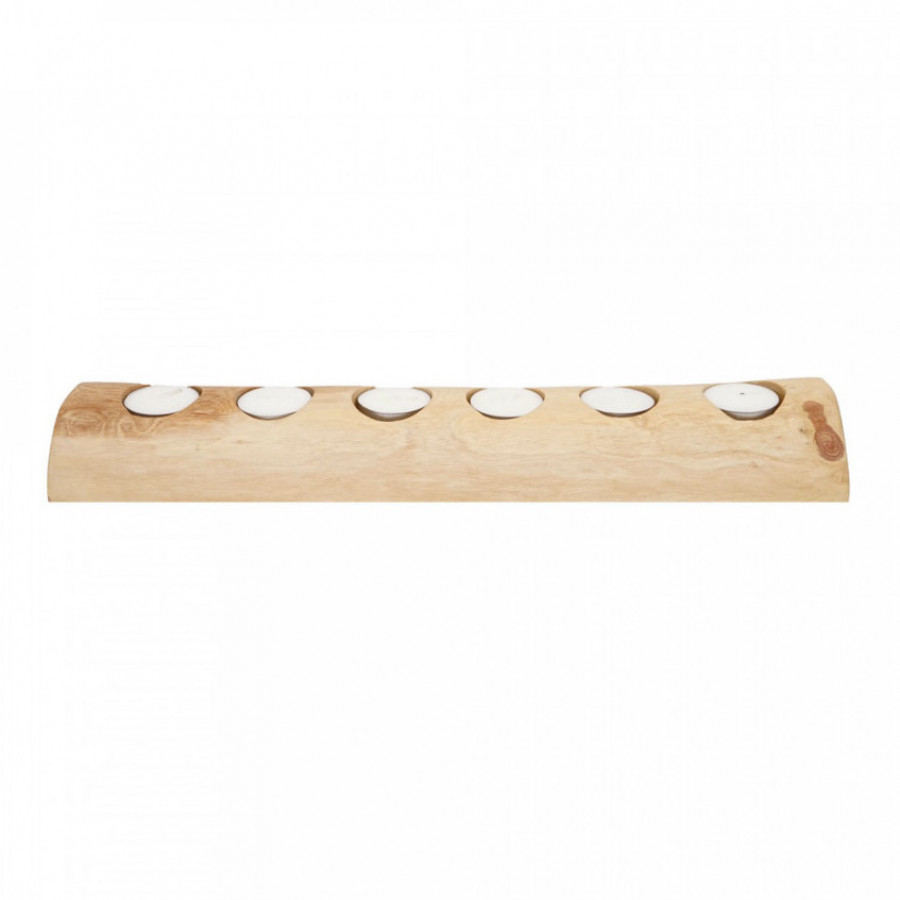 Solid Wood HOLDER - HLD Candle 6