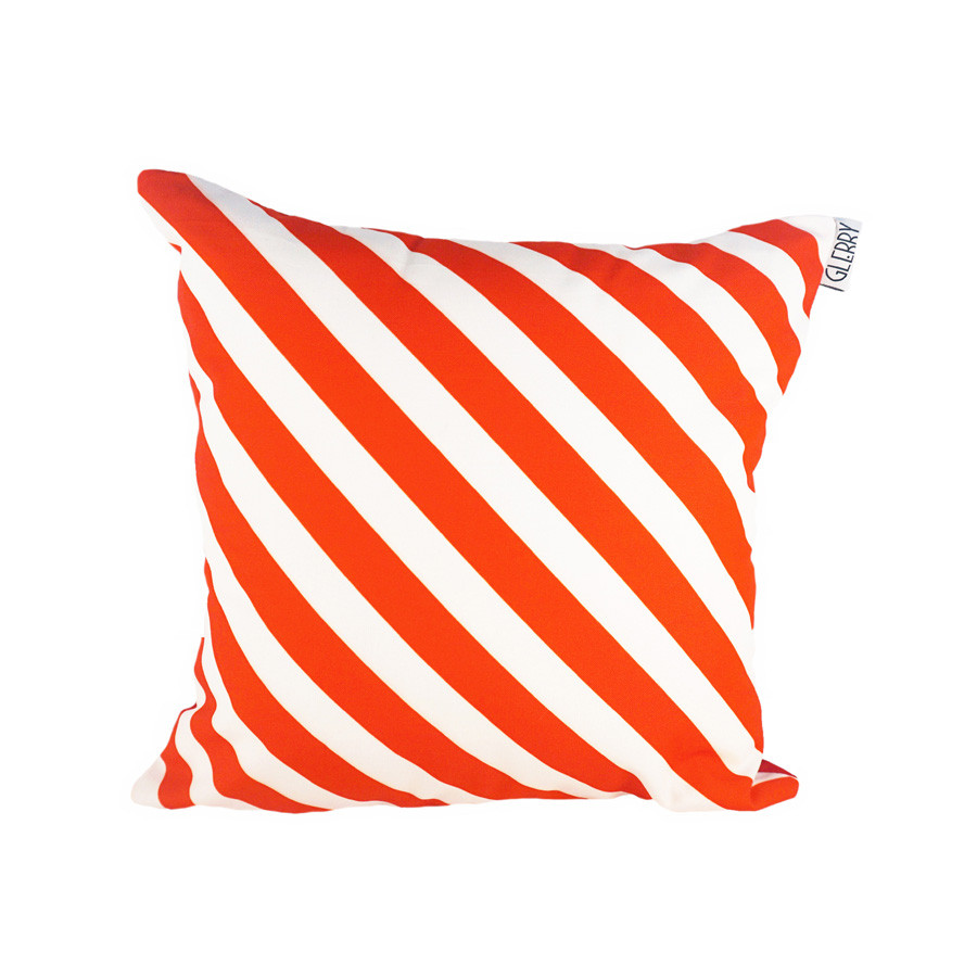 Jester Red Cushion 40 x 40