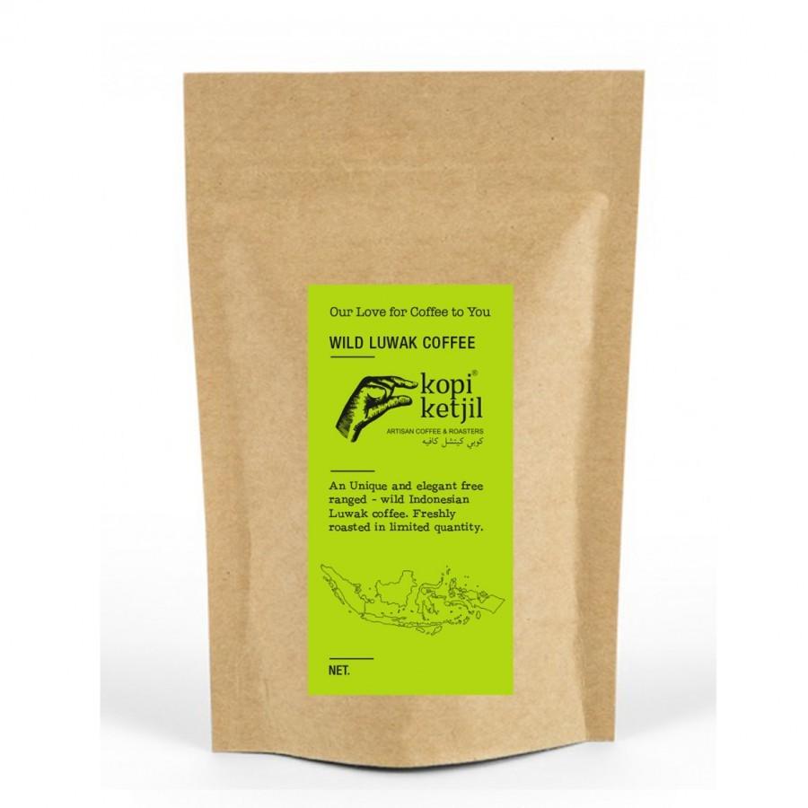 Wild Luwak Ground Coffee Beans