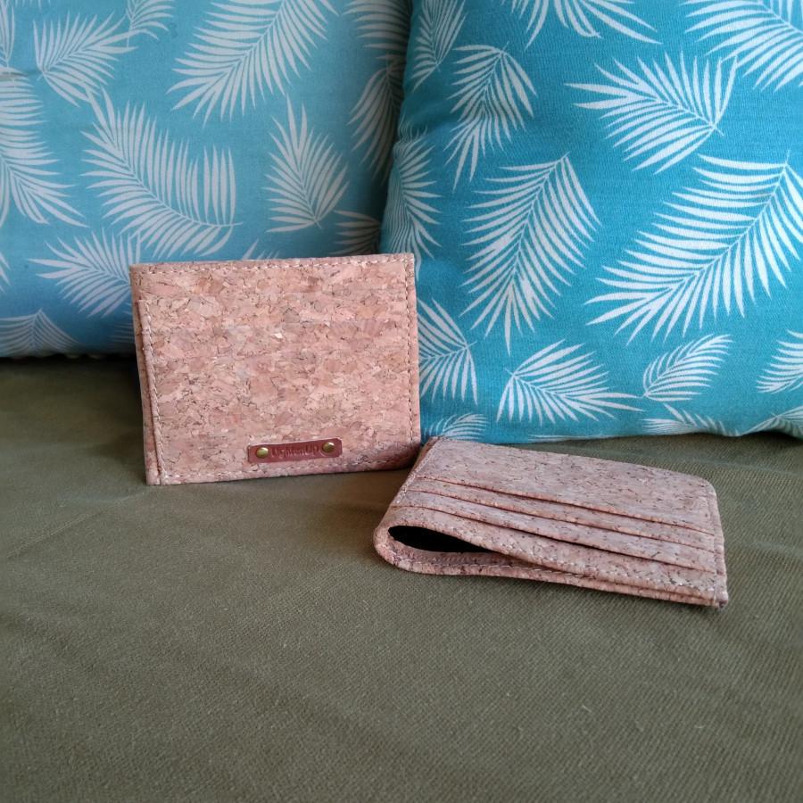 Dompet kartu kredit / Credit card wallet / cork - LightenUp
