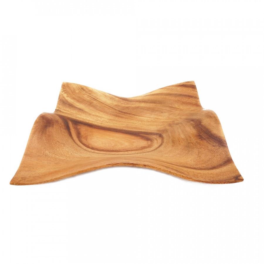Solid Wood PLATE - PLA Gelombang
