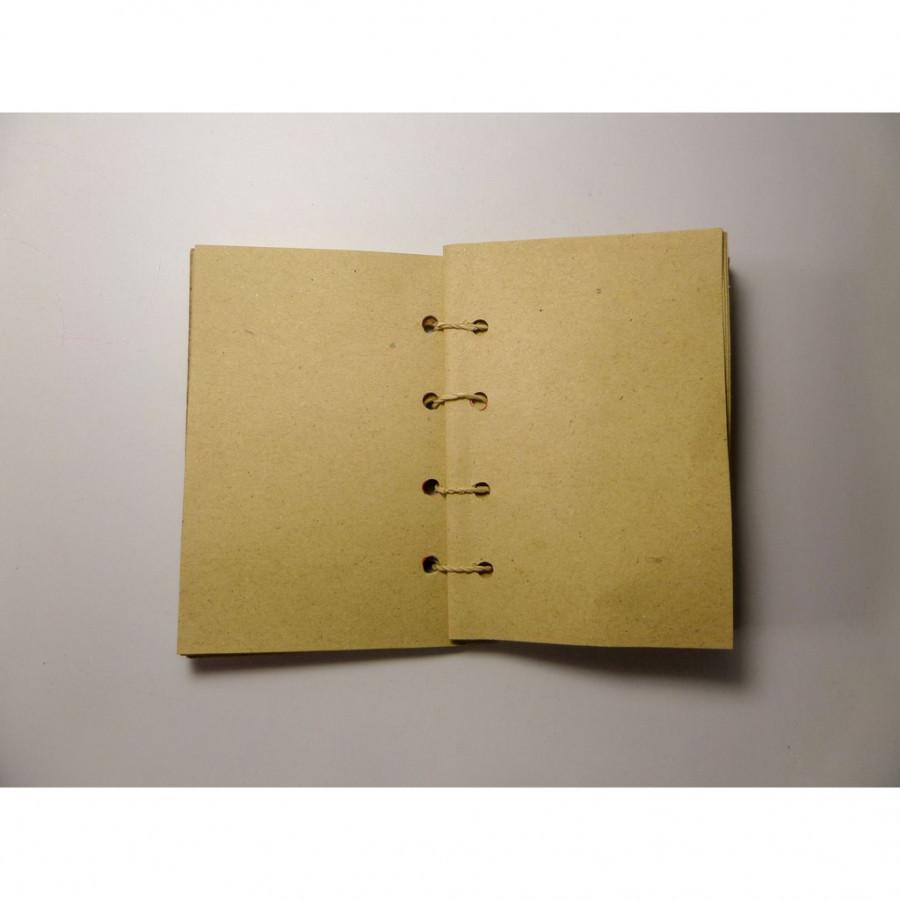 Bengok Book A7 Vertical_Notebook Enceng Gondok Handmade