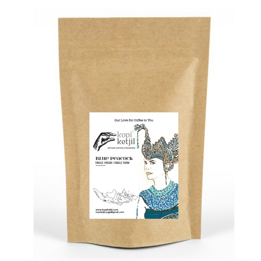 Blue Peacock Ground Coffee Beans
