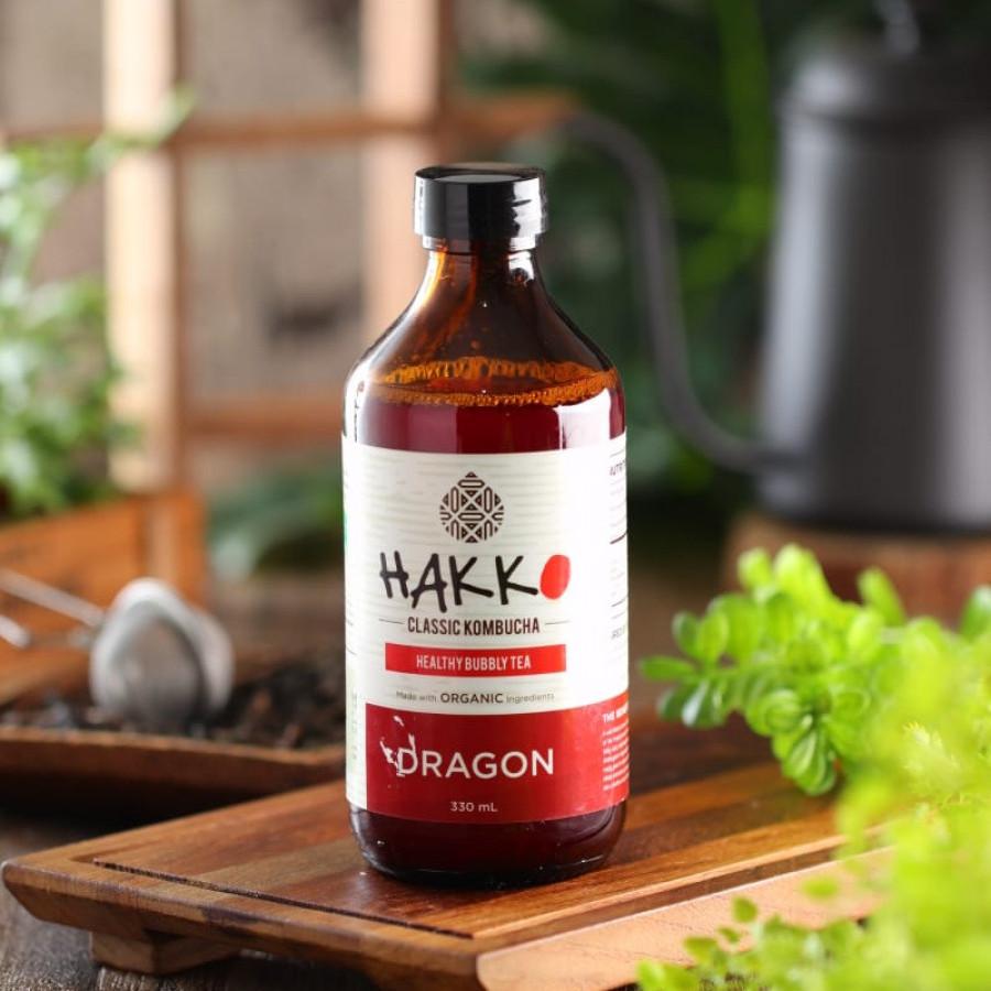 Hakko Kombucha Dragonfruit / Buah Naga 330 mL