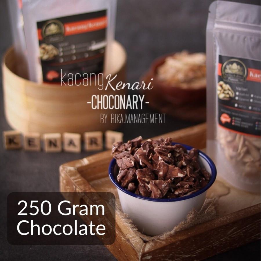 250 Gram Chocolate Roasted Kenari Nuts