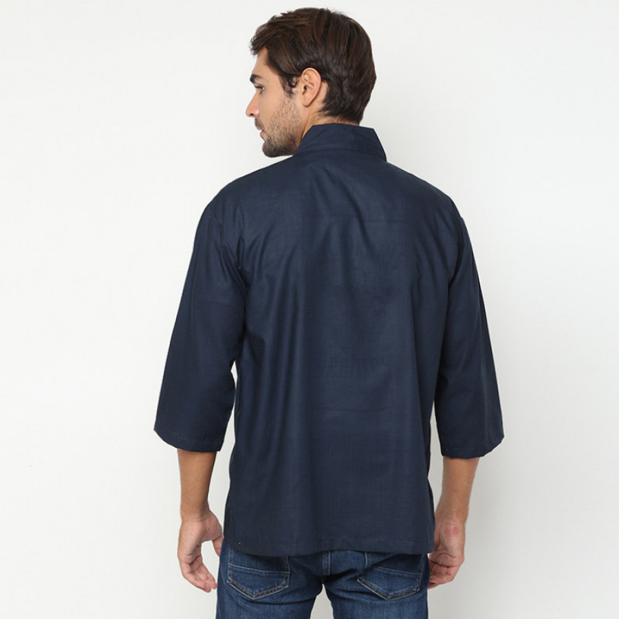 Koinobori Arashi Top 7/8 Sleeve Atasan Pria