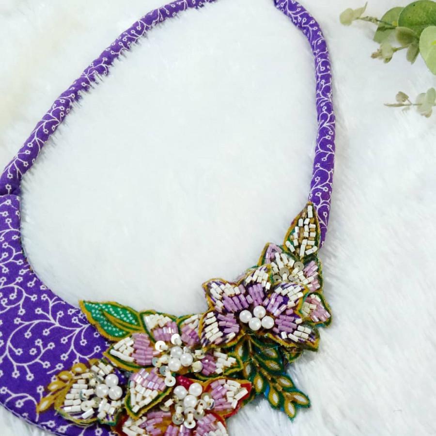 Kalung batik payet ALISHA