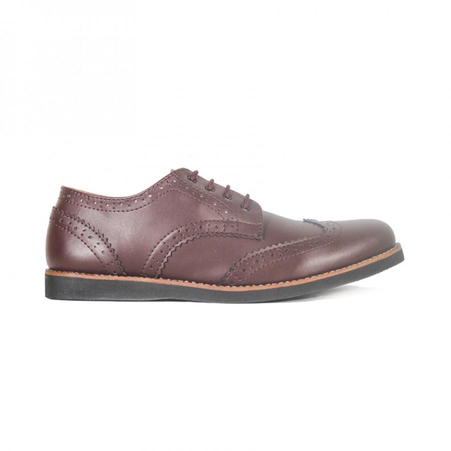 Lvnatica Footwear Alpha Darkbrown Pantofel Shoes
