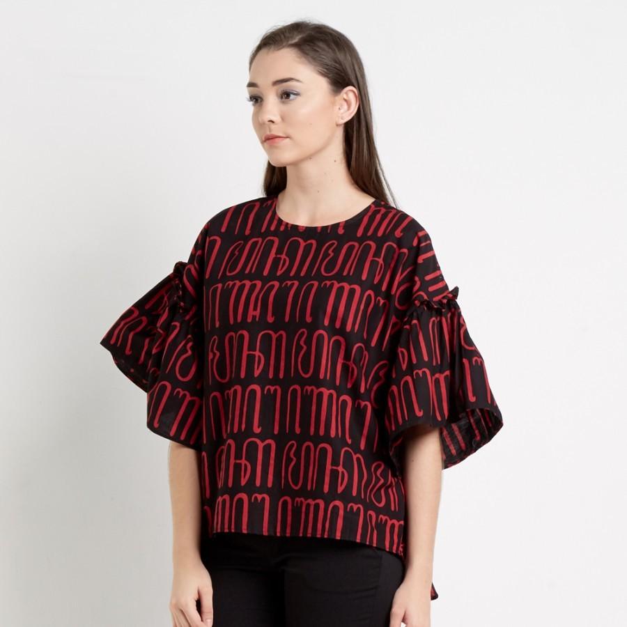 Batik Dirga Barry Atasan Wanita / Blouse Batik
