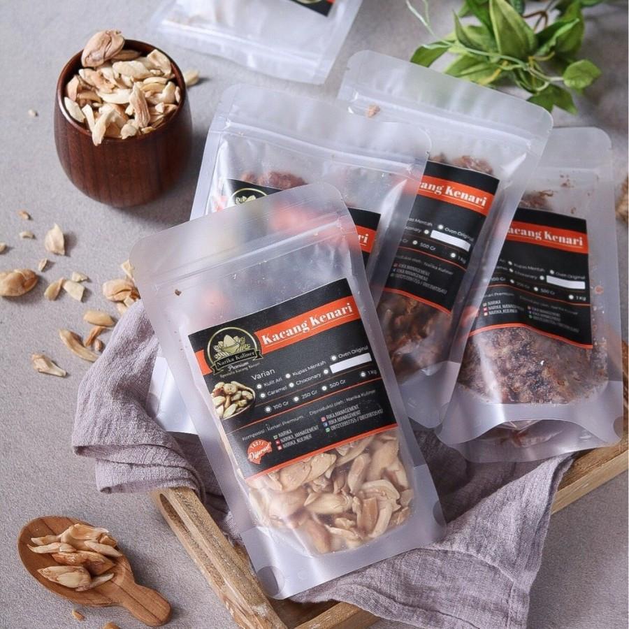 250 Gram Unsalted Roasted Kenari Nuts