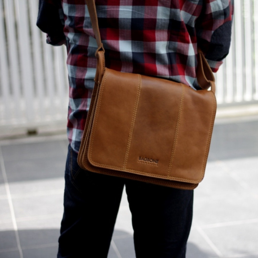 Ruby - Tas kulit selempang asli