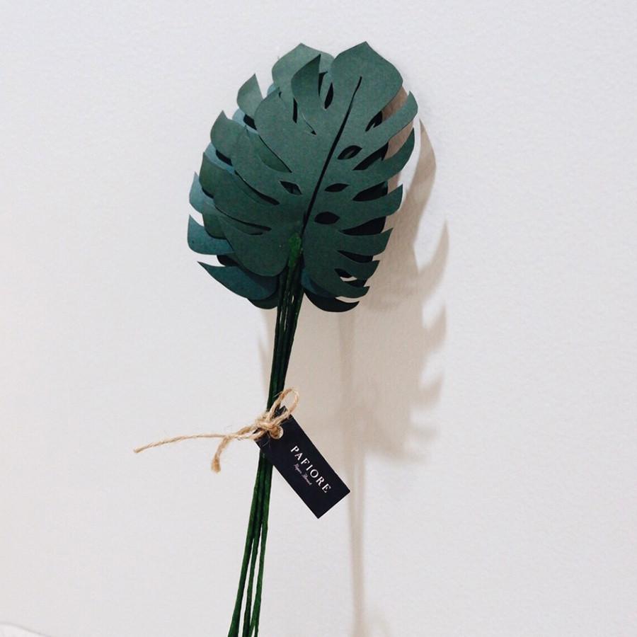 Paper Monstera Leaves - Monstera Kertas
