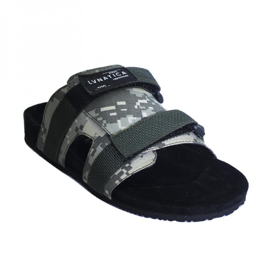 Lvnatica Footwear Camus Green Army | Sendal Jepit Pria Casual