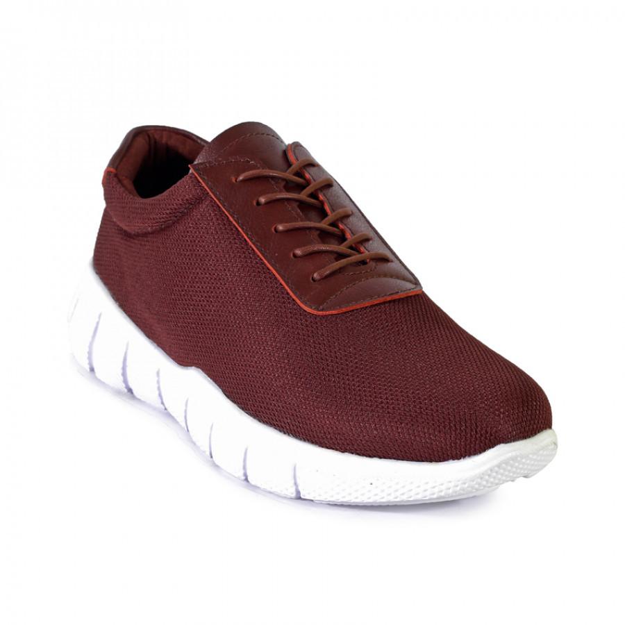 Velocity Brown | Zensa Footwear Sepatu Sneaker Pria Casual
