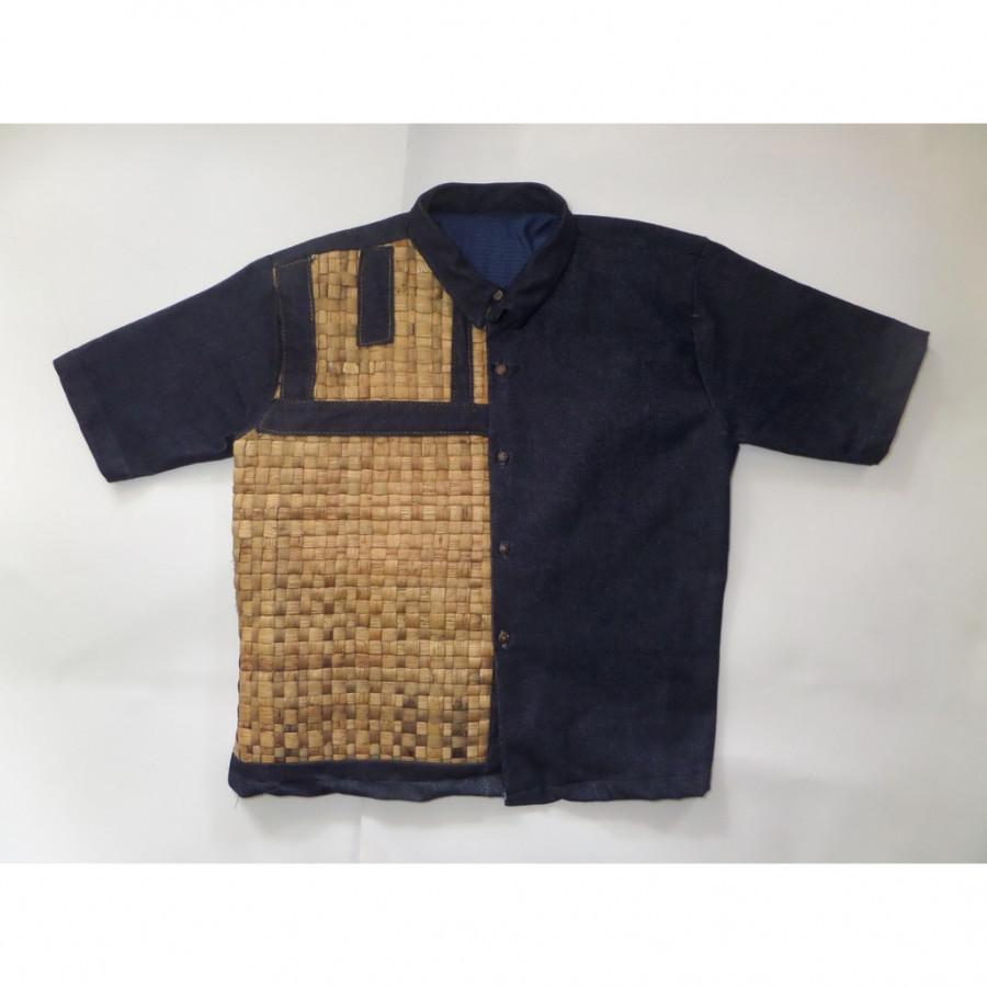 Bengok Shirt_Kemeja Enceng Gondok Handmade