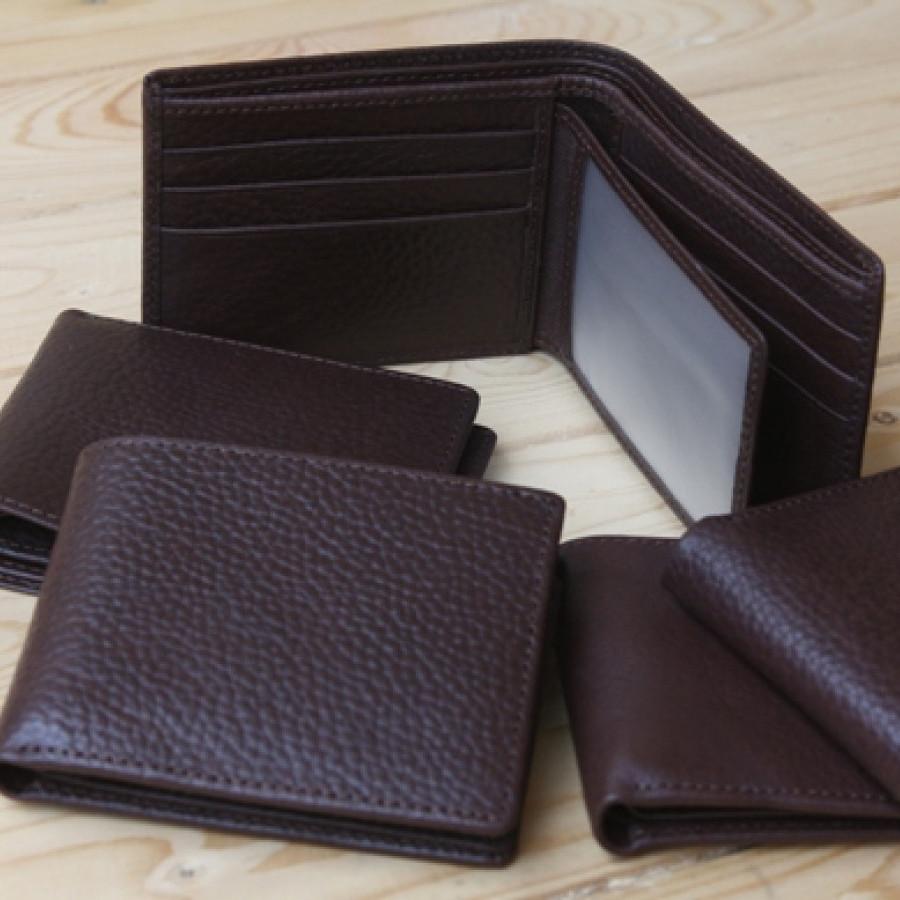 Men Wallet - Dompet kartu kulit asli