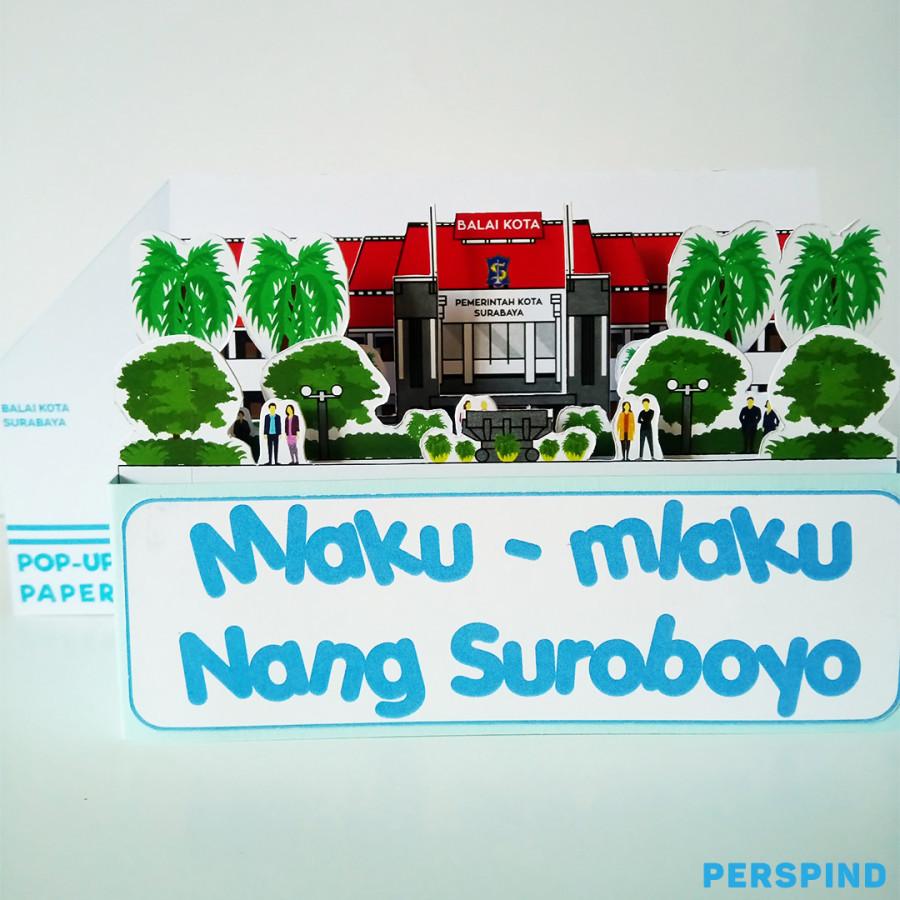 Pop Up Paper Balai Kota Surabaya