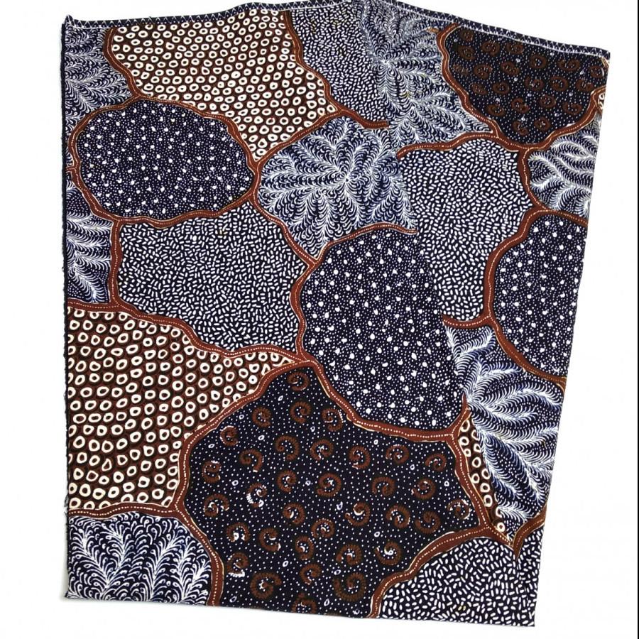 Kain batik tulis sogan sekarjagad